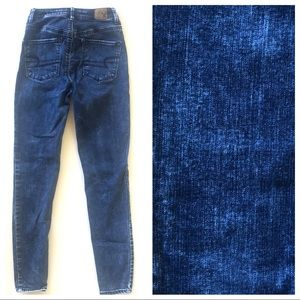 0 AEO American Eagle Sky High Jeggings Jeans Denim